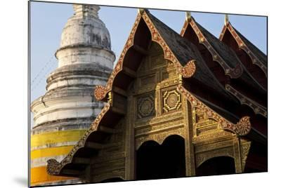 Wat Phra Singh, Chiang Mai, Thailand, South East Asia-Peter Adams-Mounted Photographic Print
