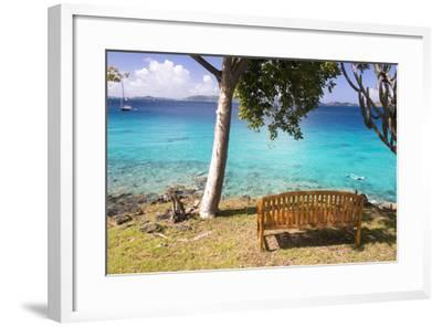 Us, Usvi, Snorkelers St John with St Thomas Beyond-Trish Drury-Framed Photographic Print