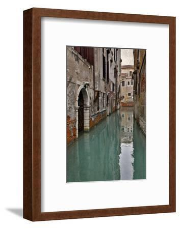 Canal and Doorways Venice, Italy-Darrell Gulin-Framed Photographic Print