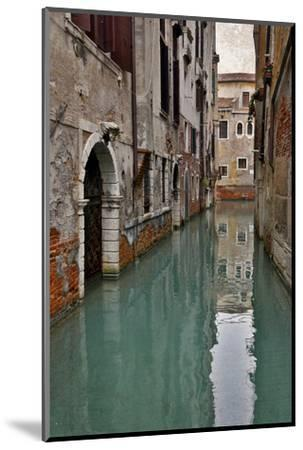Canal and Doorways Venice, Italy-Darrell Gulin-Mounted Premium Photographic Print