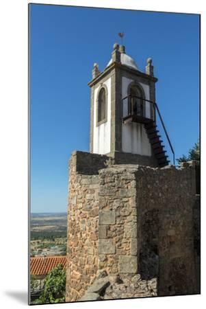 Portugal, Figueira de Castelo Rodrigo, Clock Tower-Jim Engelbrecht-Mounted Photographic Print