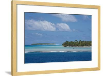 Cook Islands. Palmerston Island, a Classic Atoll Seascape-Cindy Miller Hopkins-Framed Photographic Print