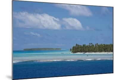 Cook Islands. Palmerston Island, a Classic Atoll Seascape-Cindy Miller Hopkins-Mounted Photographic Print