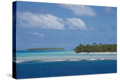 Cook Islands. Palmerston Island, a Classic Atoll Seascape-Cindy Miller Hopkins-Stretched Canvas Print