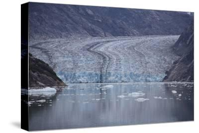 USA, Alaska, Inside Passage, Glacier-John Ford-Stretched Canvas Print