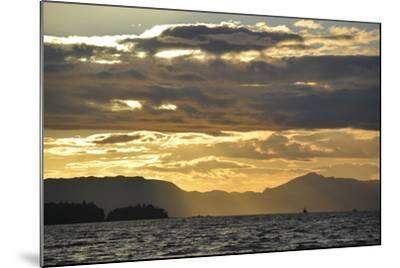 USA, Alaska, Ketchikan. Sunset North of Town-Savanah Stewart-Mounted Photographic Print