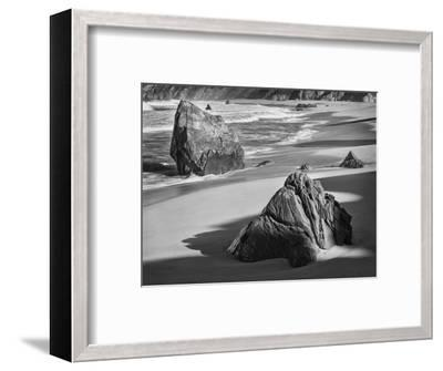 USA, California, Garrapata Beach-John Ford-Framed Photographic Print
