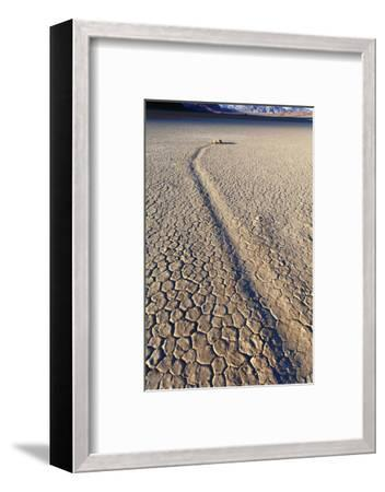 Mysterious Sliding Rock Race Track Death Valley, California, USA-John Ford-Framed Photographic Print
