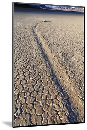 Mysterious Sliding Rock Race Track Death Valley, California, USA-John Ford-Mounted Photographic Print