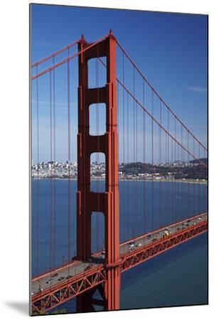 California, Traffic on Golden Gate Bridge, and San Francisco Bay-David Wall-Mounted Photographic Print