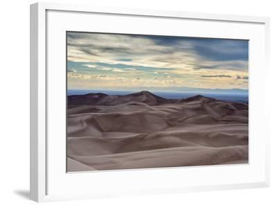 Great Sand Dunes National Park and Sangre Cristo Mountains, Colorado-Howie Garber-Framed Photographic Print