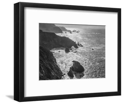 USA, California, Big Sur Coast-John Ford-Framed Photographic Print