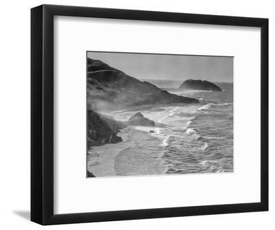 USA, California, Little Sur-John Ford-Framed Photographic Print