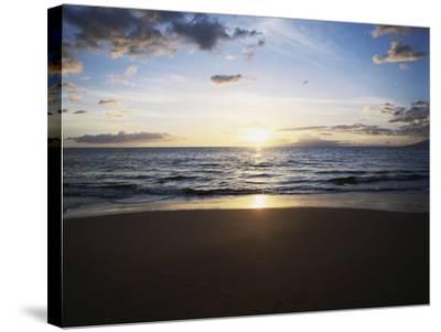 Hawaii Islands, Maui, View of Wailea Beach-Douglas Peebles-Stretched Canvas Print