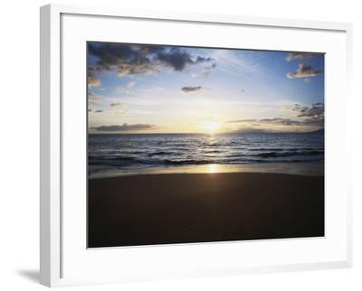Hawaii Islands, Maui, View of Wailea Beach-Douglas Peebles-Framed Photographic Print