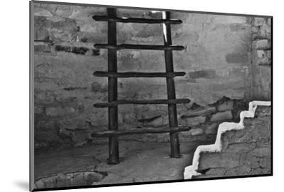 USA, Colorado, Mesa Verde, Long Ladder-John Ford-Mounted Photographic Print