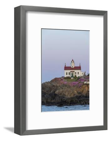 Battery Point Lighthouse in Crescent City, California, USA-Chuck Haney-Framed Photographic Print