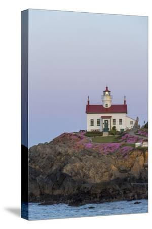 Battery Point Lighthouse in Crescent City, California, USA-Chuck Haney-Stretched Canvas Print