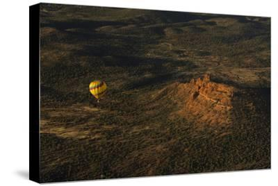 Aerial View, Red Rock Country, Cockscomb, Sedona, Coconino NF, Arizona-Michel Hersen-Stretched Canvas Print