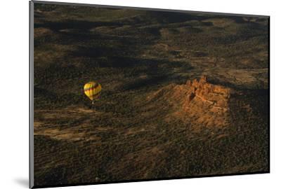 Aerial View, Red Rock Country, Cockscomb, Sedona, Coconino NF, Arizona-Michel Hersen-Mounted Photographic Print