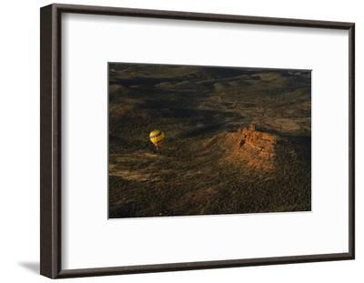 Aerial View, Red Rock Country, Cockscomb, Sedona, Coconino NF, Arizona-Michel Hersen-Framed Photographic Print