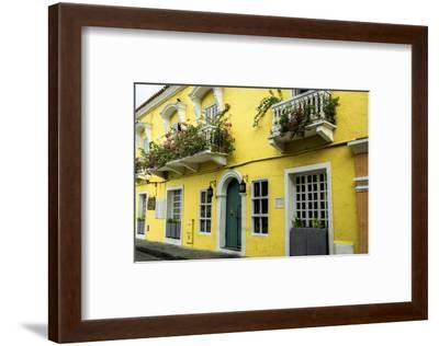 Architecture in the San Diego Part of Old City, Cartagena, Colombia-Jerry Ginsberg-Framed Photographic Print