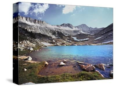 California, Sierra Nevada, Conness Glacier Above Conness Lake-Christopher Talbot Frank-Stretched Canvas Print