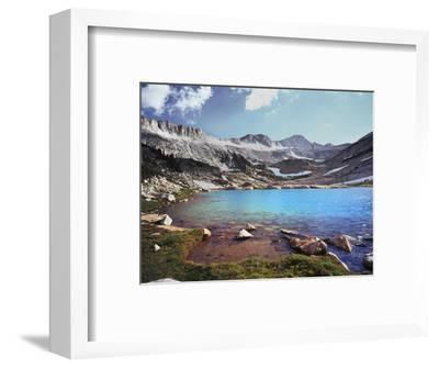 California, Sierra Nevada, Conness Glacier Above Conness Lake-Christopher Talbot Frank-Framed Photographic Print