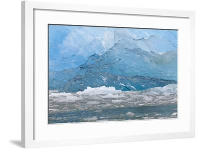 USA, Alaska, Endicott Arm. Blue Ice and Icebergs-Don Paulson-Framed Photographic Print