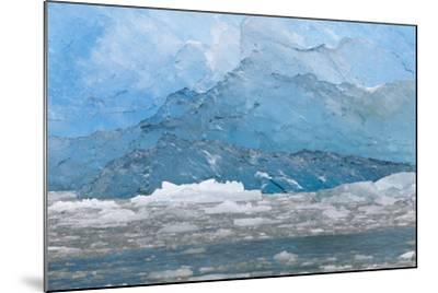 USA, Alaska, Endicott Arm. Blue Ice and Icebergs-Don Paulson-Mounted Photographic Print