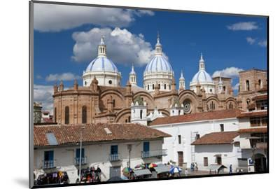 Cathedral of the Immaculate Conception, Built in 1885, Cuenca, Ecuador-Peter Adams-Mounted Photographic Print