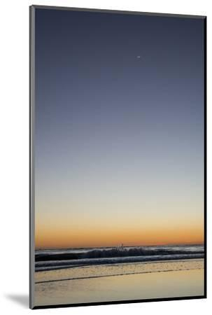 California, Carpinteria, Santa Barbara Channel, Beach at a Night-Alison Jones-Mounted Photographic Print