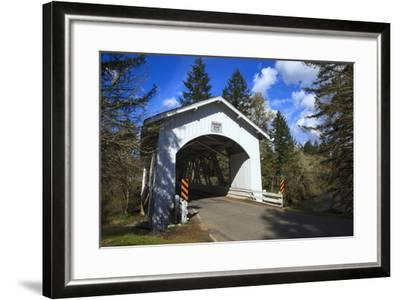 USA, Oregon, Hannah Bridge-Rick A Brown-Framed Photographic Print
