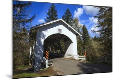 USA, Oregon, Hannah Bridge-Rick A Brown-Mounted Photographic Print