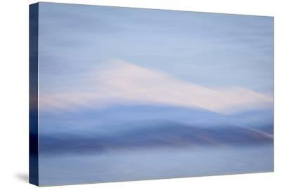 USA, Washington State, Mount Baker. Abstract of Mount Baker-Don Paulson-Stretched Canvas Print