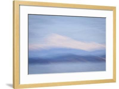 USA, Washington State, Mount Baker. Abstract of Mount Baker-Don Paulson-Framed Photographic Print