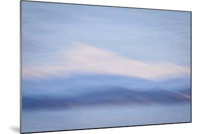 USA, Washington State, Mount Baker. Abstract of Mount Baker-Don Paulson-Mounted Photographic Print