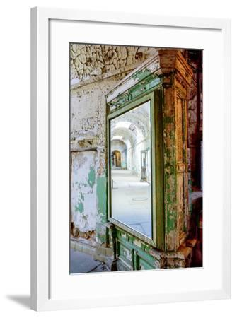 Pennsylvania, Philadelphia, Eastern State Penitentiary. Interior-Jay O'brien-Framed Photographic Print