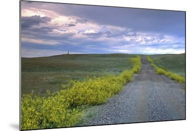 Union Pacific Lewis and Clark Monument, Browning, Montana-Angel Wynn-Mounted Photographic Print