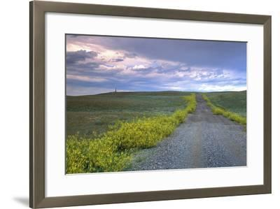 Union Pacific Lewis and Clark Monument, Browning, Montana-Angel Wynn-Framed Photographic Print