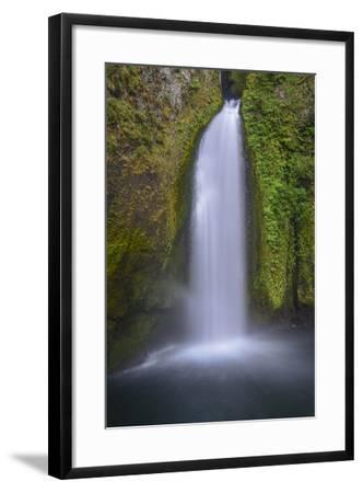 Wahclella Falls, Columbia River Gorge-Howie Garber-Framed Photographic Print