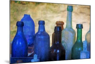 South Carolina, Charleston. Old Bottles Excavated from Slave Quarters-Don Paulson-Mounted Photographic Print