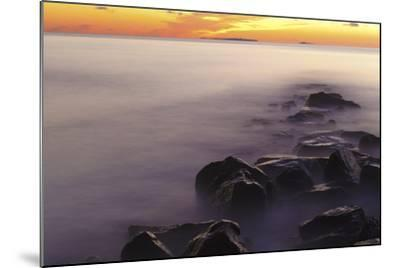 Dawn at Wallis Sands State Park in Rye, New Hampshire-Jerry & Marcy Monkman-Mounted Photographic Print