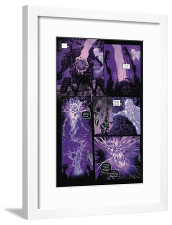 Zombies vs. Robots: Volume 1 - Comic Page with Panels-Anthony Diecidue-Framed Art Print
