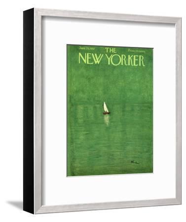 The New Yorker Cover - June 29, 1957-Abe Birnbaum-Framed Premium Giclee Print
