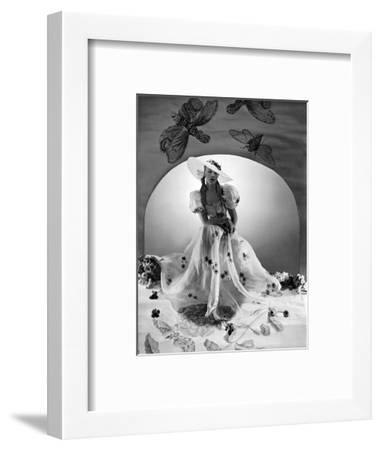 Vogue - April 1938-Horst P. Horst-Framed Premium Photographic Print
