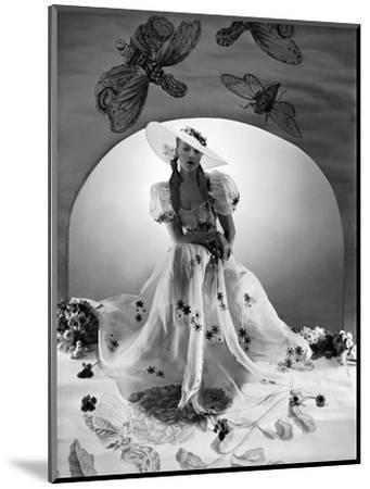 Vogue - April 1938-Horst P. Horst-Mounted Premium Photographic Print