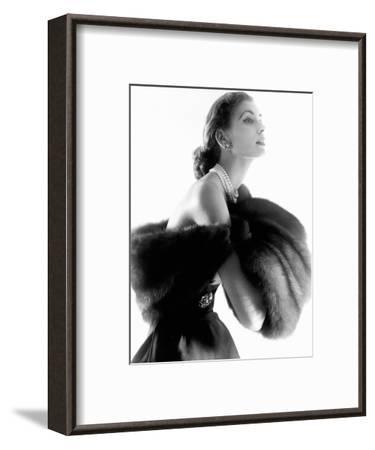 Vogue - August 1954-Horst P. Horst-Framed Premium Photographic Print