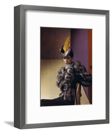 Vogue - August 1939-Horst P. Horst-Framed Premium Photographic Print
