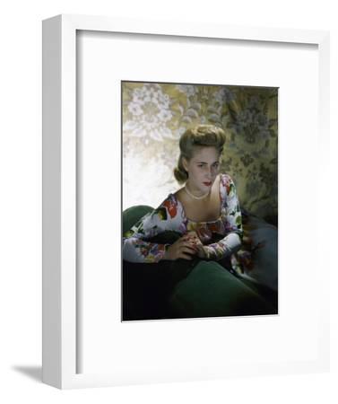 Vogue - July 1941-Horst P. Horst-Framed Premium Photographic Print